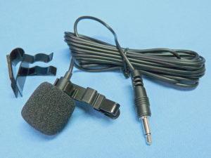 VA lapel microphone