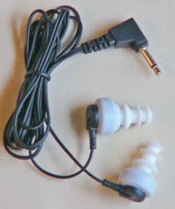Picture of Earbuds—Dual, Mono with Flexible Ear-tips