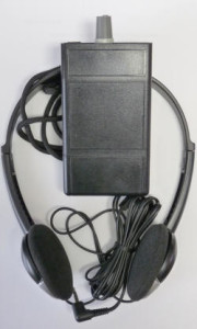 Picture of ET-LR Loop Receiver & Headphones