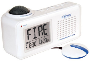 Picture of Lifetone HLAC151 Bedside Fire Alarm