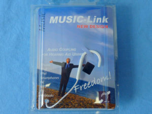 Music Link single, white, in box