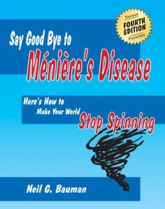 Book front cover - Say Good Bye to Meniere's Disease