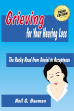 "Picture of front cover of the book, ""Grieving for Your Hearing Loss"""