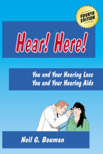 "Picture of front cover of the book, ""Hear! Here!"""