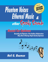 "Picture of front cover of the book, ""Phantom Voices, Ethereal Music & Other Spooky Sounds"""