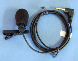 Picture of Lapel Microphone (MIC054)
