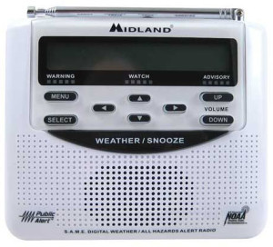 Picture of Midland WR100 Weather Radio