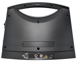 Picture of the back of the TV SoundBox