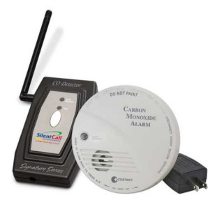 Picture of Silent Call Carbon Monoxide Detector with Transmitter