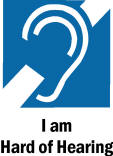 Hard-of-Hearing Symbol picture
