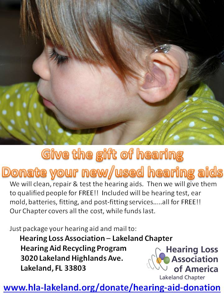 Donate Your Used Hearing Aids–Give the Gift of Hearing
