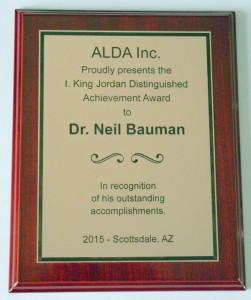 I King Jordan Award