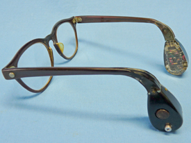 Picture of Acousticon Model A-230 Eyeglass Hearing Aid