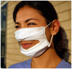 """The Communicator"" Clear Surgical Face Mask Now Available"